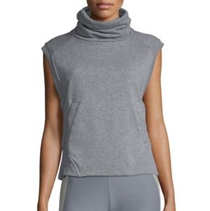 Nike Black Dry Versa Funnel-Neck Athletic Vest